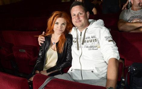 Michal Novotný s muzikálovou kolegyní Ivou Marešovou.