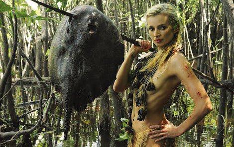 Ivana se brodila vodou nejen v Amazonii, ale také doma.