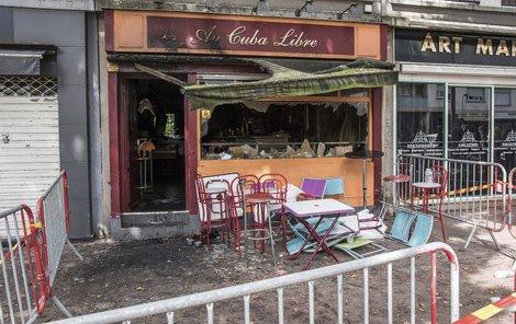 Bar »Au Cuba Libre« vyhořel kvůli jedinému klopýtnutí.