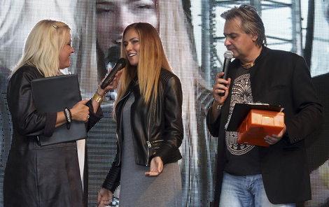 Andrea by chtěla konkurovat ostříleným moderátorům Markétě Mayerové a Slávku Bourovi