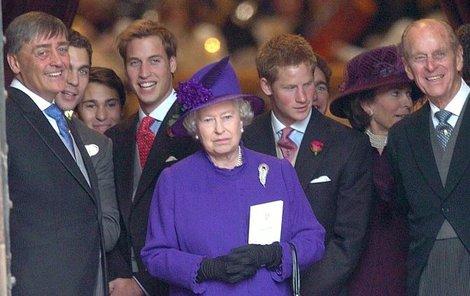 Královská rodina truchlí, zemřel vévoda z Westminsteru.