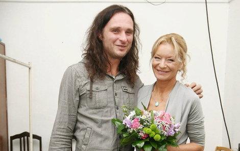 Cibulková se svým bývalým přítelem Rybou.