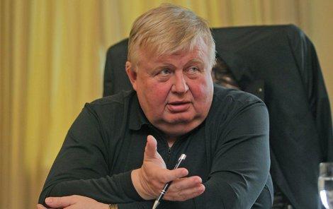 Šéf Vítkovic Jan Světlík