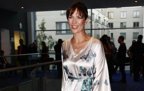 Kostková oslnila všechny svou róbou v japonském stylu.