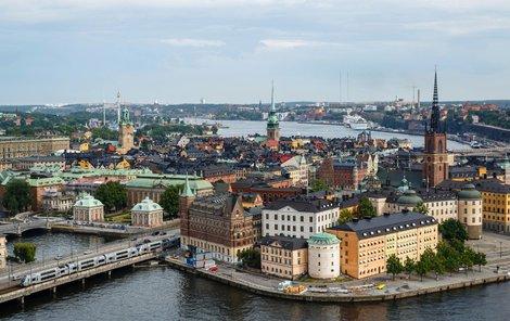 Stockholm se rozprostírá na několika ostrovech.