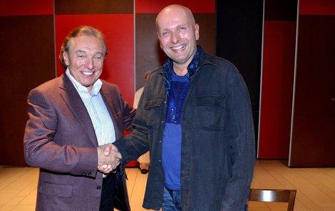 Ivo Špes a Karel Gott.