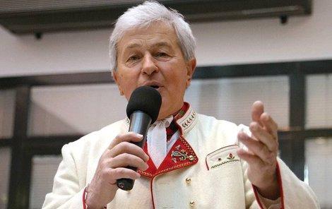 Moravský folklórní král Jožka Černý.