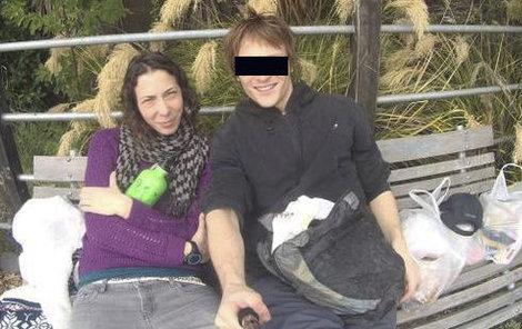 Pavlína s přítelem Ondrou.