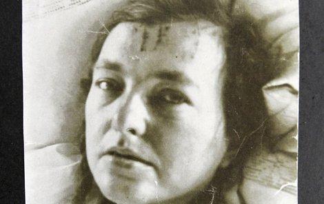 Jedna z mála dochovaných fotografií Anny Bohuslavy Tomanové.