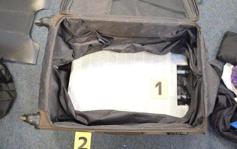 Takhle vypadá 6,7 kilogramů hašiše.