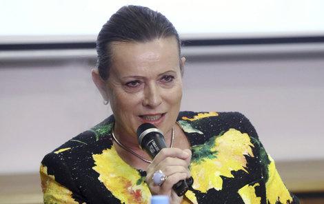Šéfka ERÚ Alena Vitásková bude každý čtvrtrok říkat lidem, kolik mají platit za plyn.