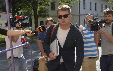 Marek Dalík přichází do kriminálu.