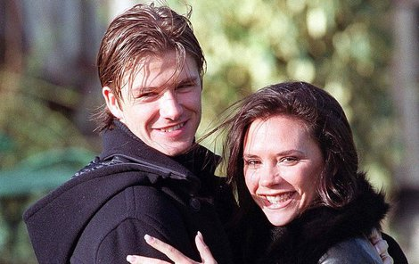 1997 Zamilovaní David a Victoria.