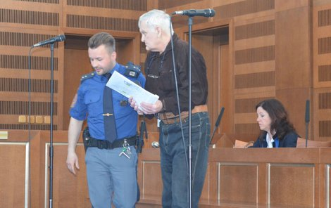 Pavel Krupička u soudu.