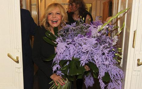 Hana Zagorová oslavila sedmdesátku ve velkém stylu.