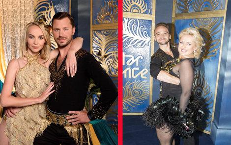 Tohle se ve Stardance moc často nevidí. Místo hubnutí obě herečky na váze naopak přibývají...