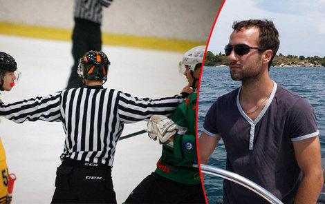 Mladý hokejista zemřel po zásahu pukem.