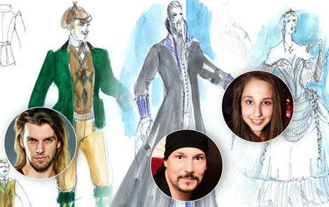 Kdo si oblékne jaký kostým v novém muzikálu Ples upírů?