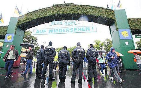 Oktoberfest je tentokrát pod přísným policejním dohledem.