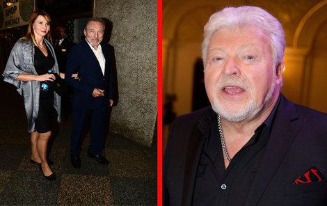 Setkání Slavíka s Milanem Drobným, kterého zná neuvěřitelných 55 let, bylo plné rozpaků.