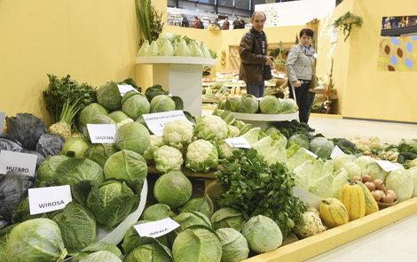 Produkty českých pěstitelů, které na pultech zákazník běžně nevidí.