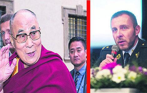 Za sporem údajně stojí dalajlámova návštěva.