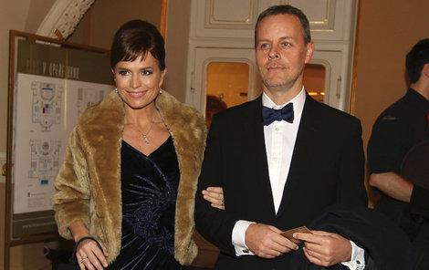 Olga Šípková s manželem.