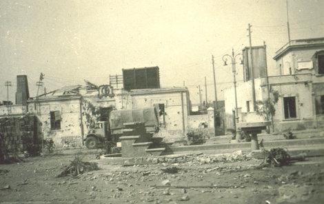 Válečná zóna v Tobruku