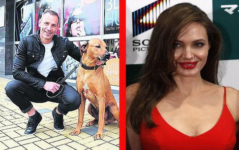 S Angelinou Jolie jsou dlouholetí přátelé. Poznal ji ostatně daleko dříve než Brad Pitt.