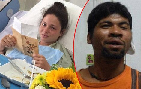 Baťůžkářka měla zlomenou páteř, ani to ale Thajce nezastavilo...