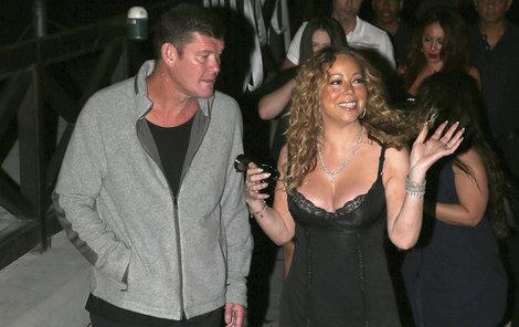 Mariah Carey se svým posledním snoubencem.