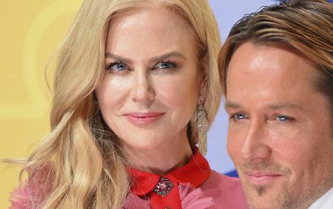Jako Barbie a Ken: Nicole a Keith na předávání hudebních cen.