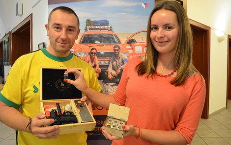 Ladislav a Kateřina včera pálenici představili na Super koštu.