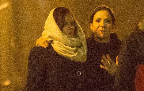 Anna K. utěšovala herečku celou noc.