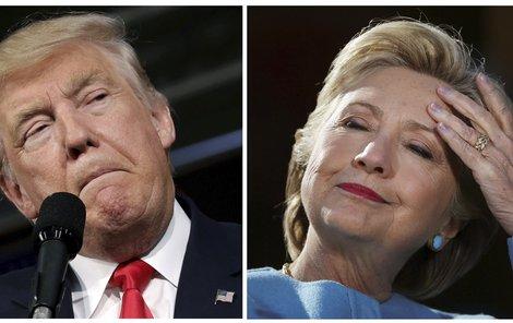 Kdo uhrane Ameriku? Donald Trump nebo Hillary Clinton?
