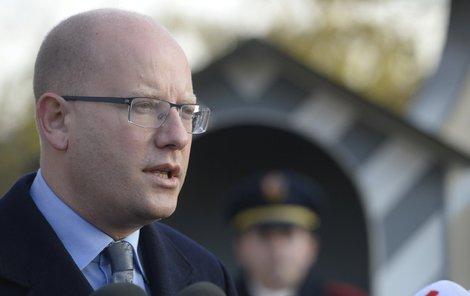 Premiér Sobotka oznámí náhradníky nejdřív prezidentovi.