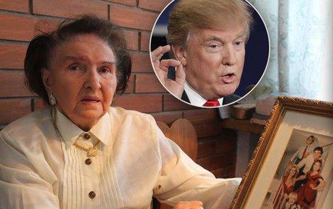Tchyně prezidenta USA Marie Zelníčková si na výhru Trumpa nepřipije.