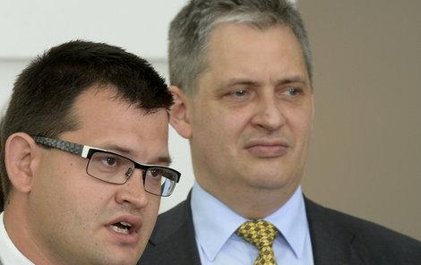 Jan Chvojka (vlevo) nahradí Jiřího Diensbiera.