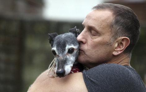 Mark Woods svého psa miloval.