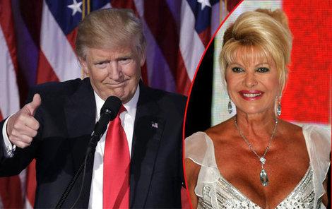 Ivana by ráda dostala funkci americké ambasadorky. Co na to její exmanžel?