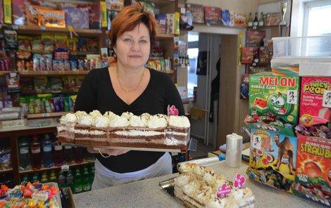 Cukrářka Marcela Hřebíčková si dorty vyrábí sama. Jsou prý super...