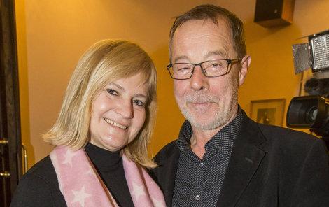 S manželem, režisérem Petrem Soukupem.