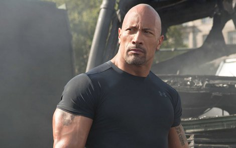Dwayne Johnson alias The Rock: 195 cm a 111 kg!