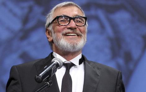 Herec Jiří Bartoška.