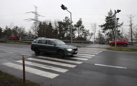 Celkem třináct chodců srazili dnes řidiči v Praze.