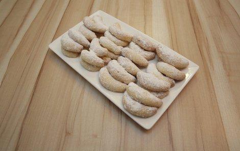 Kokosové rohlíčky jsou připravené podle receptu Honzovy babičky.
