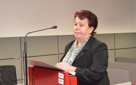 Zdravotní sestra Šárka Groerová u soudu.
