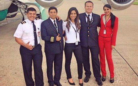Pilot osudného letu Miguel »Micky« Quirogo (†54).