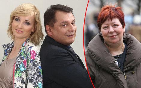 Jeho žena a jeho ex jsou kamarádky!