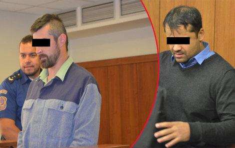 Roman T. (vpravo) si podle obžaloby Jakuba Š. najal.